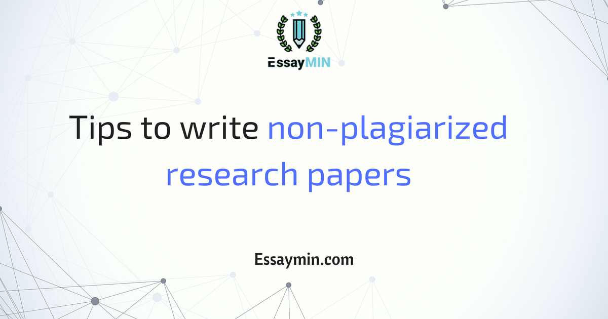 Buy non plagiarized essays