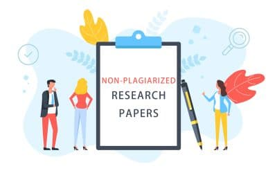 Tips to write non plagiarized research papers