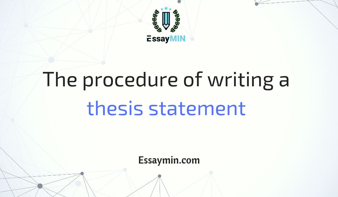 Essay My Best Friend  Native Son Essay Topics also Essay On Natural Disaster The Procedure Of Writing A Thesis Statement  Essaymin Presentation Essay Example