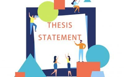 The Procedure of writing a thesis statement