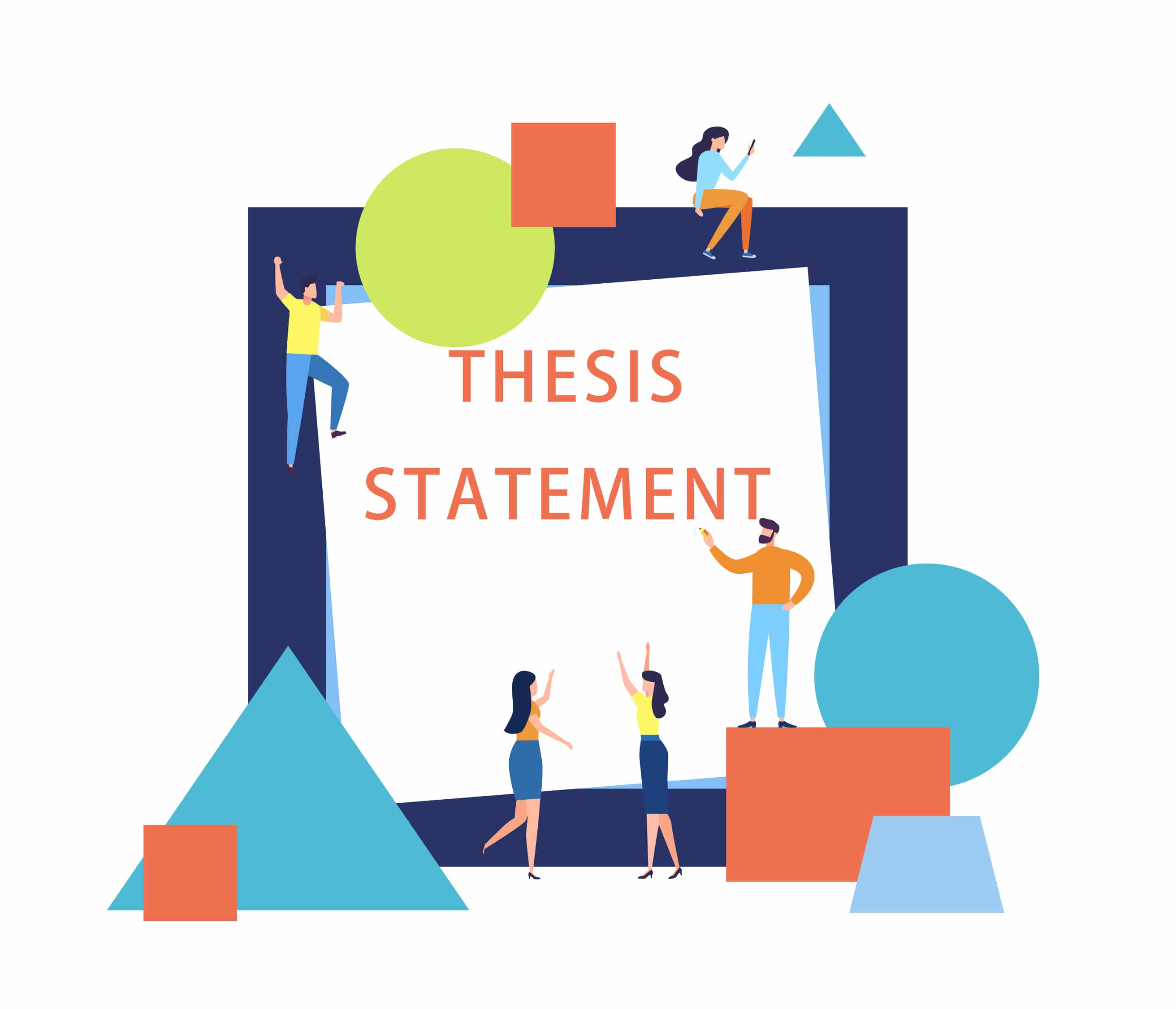 The Procedure Of Writing A Thesis Statement - EssayMin