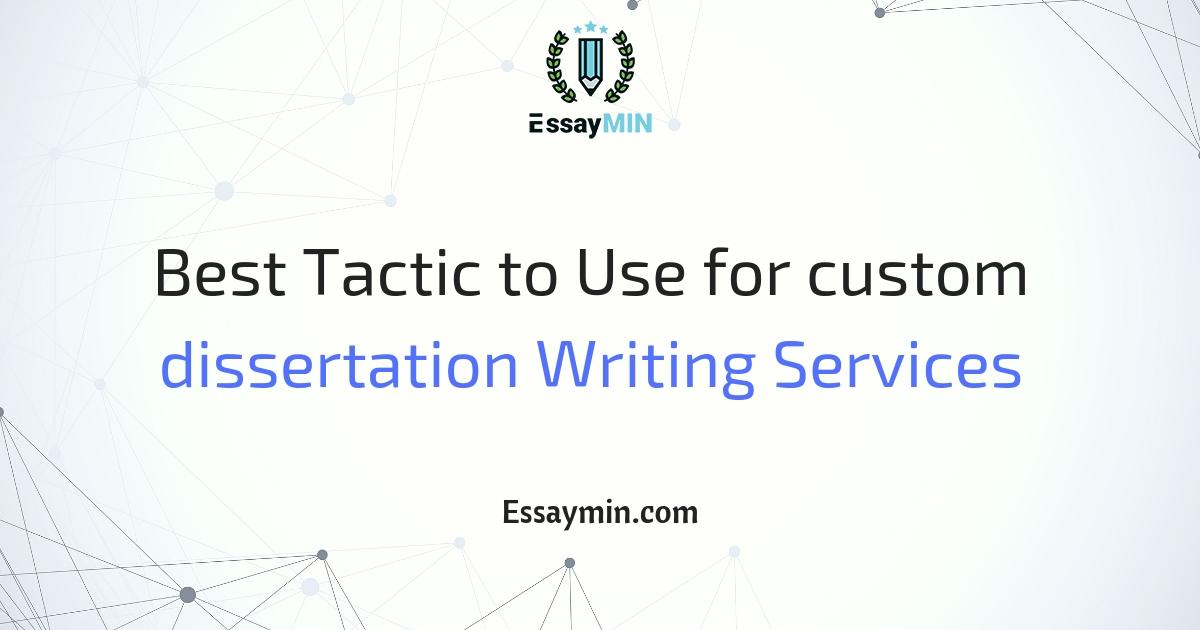 Custom essay and dissertation writing service it has anyone used
