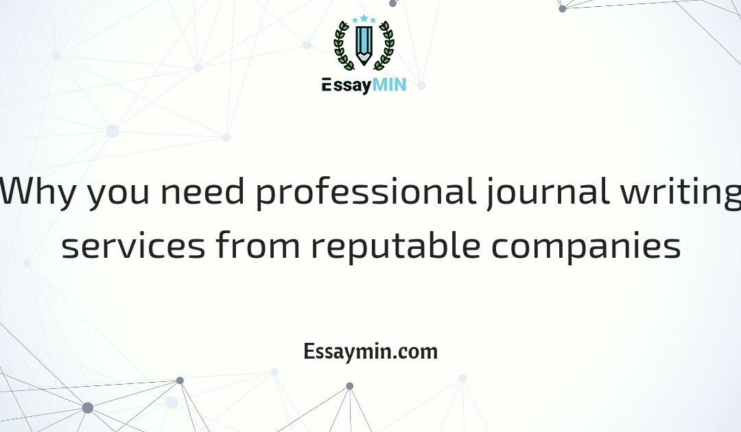 Essay services professional