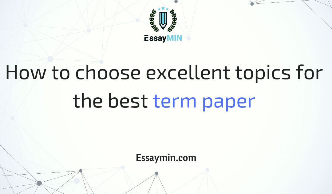 Best term paper