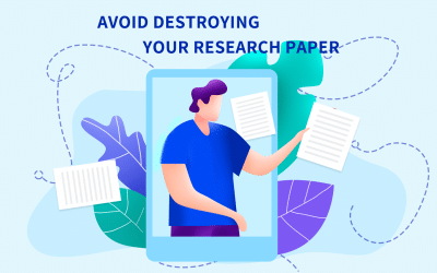 How to avoid destroying your research paper with the conclusion paragraph